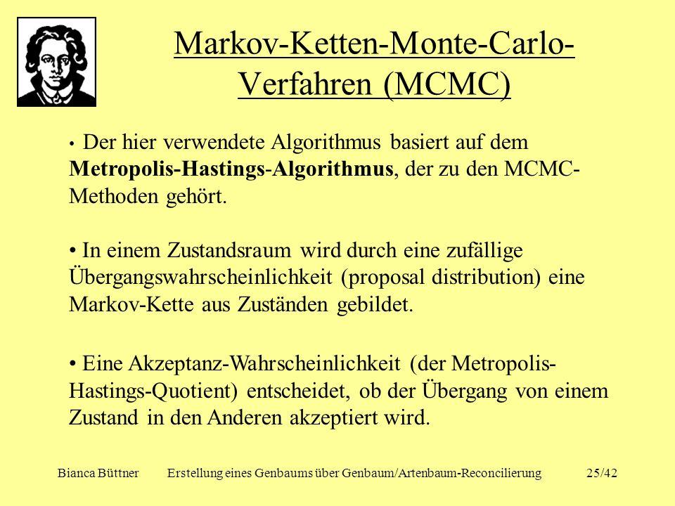 Markov-Ketten-Monte-Carlo-Verfahren (MCMC)
