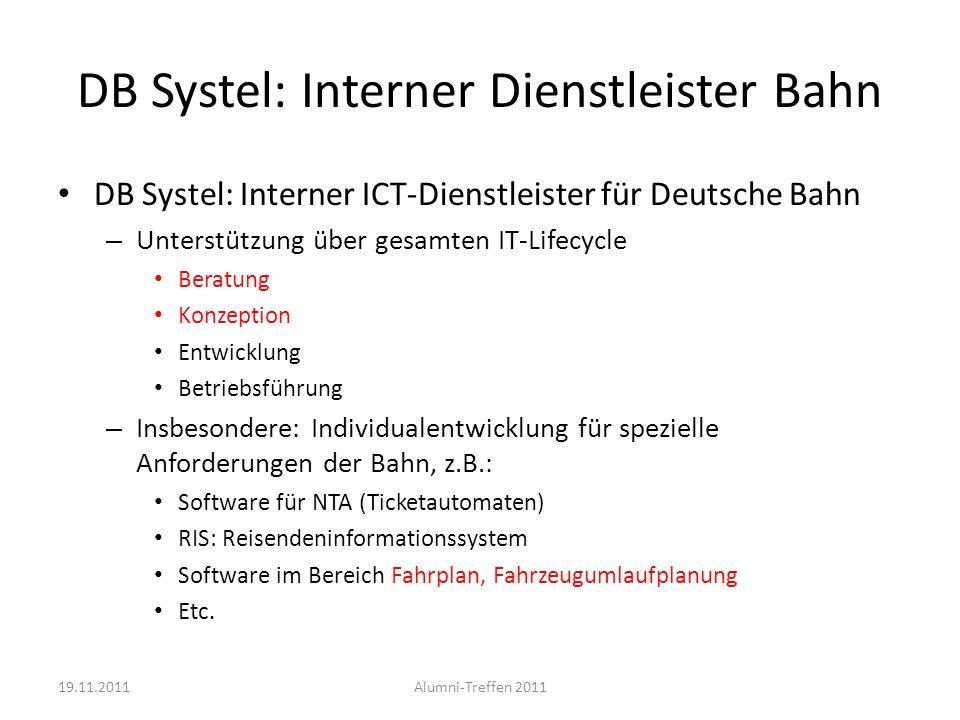 DB Systel: Interner Dienstleister Bahn