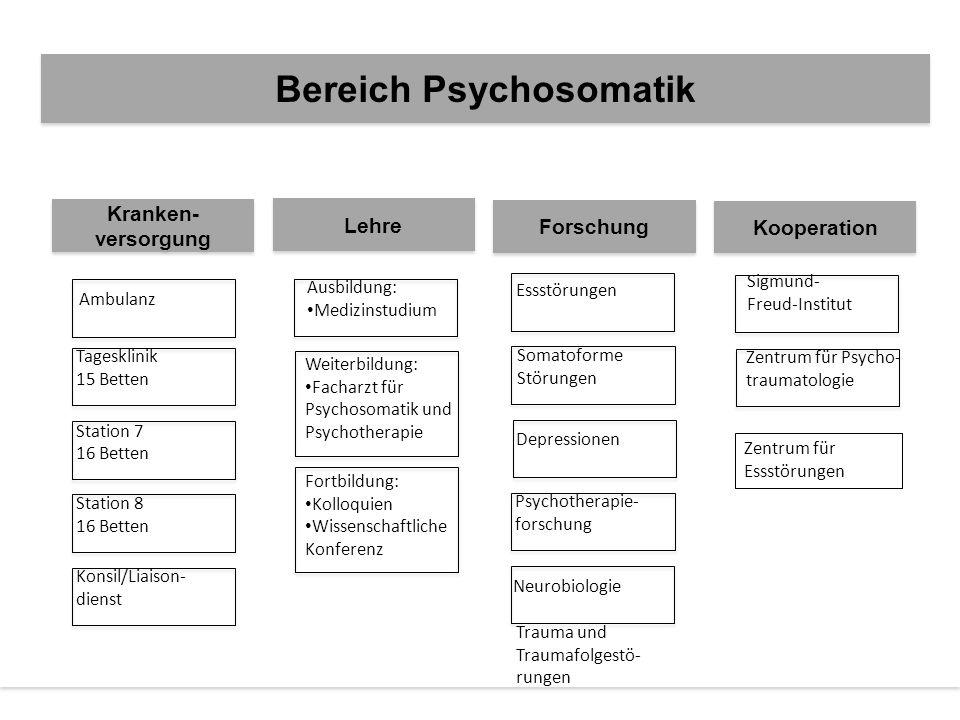Bereich Psychosomatik