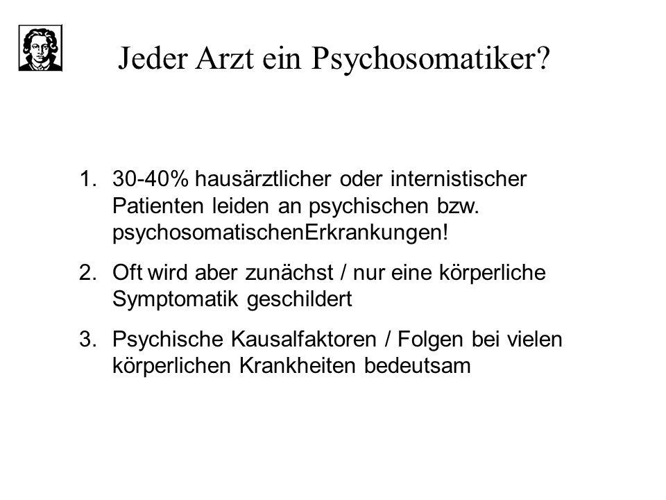 Jeder Arzt ein Psychosomatiker