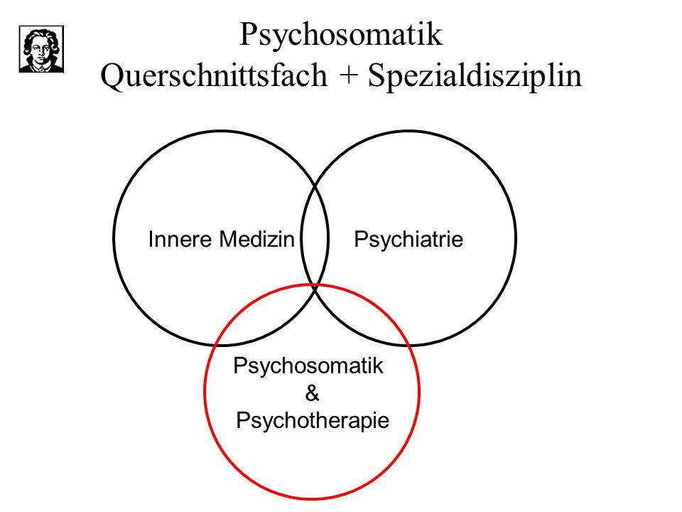 Psychosomatik Querschnittsfach + Spezialdisziplin