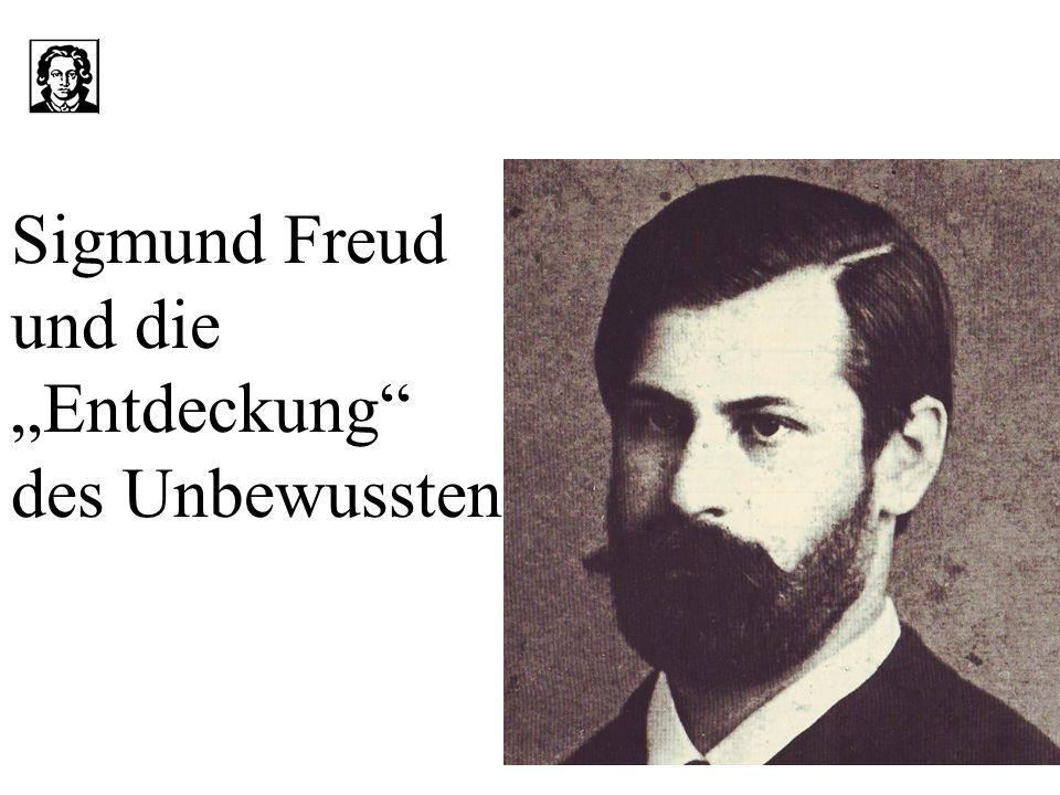 """Sigmund Freud und die """"Entdeckung des Unbewussten"""
