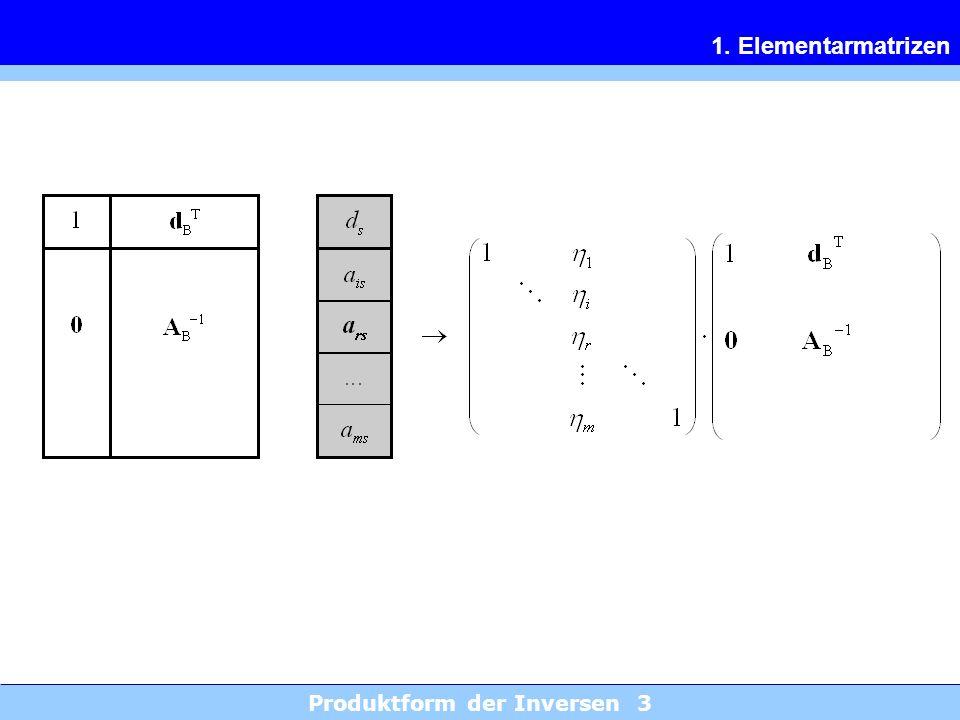 Produktform der Inversen 3