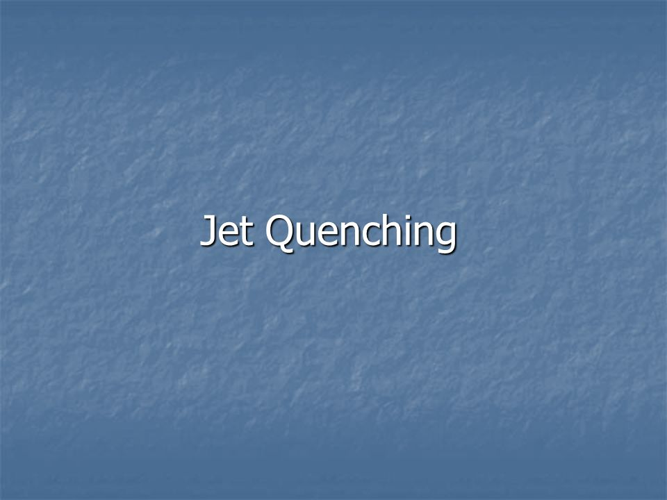 Jet Quenching