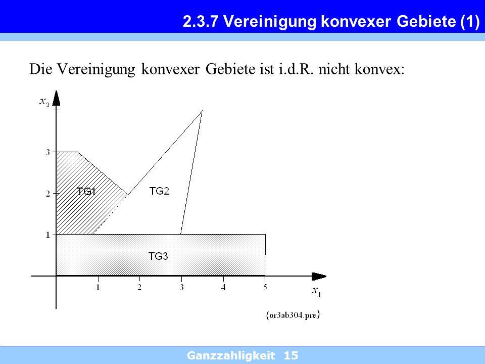 2.3.7 Vereinigung konvexer Gebiete (1)