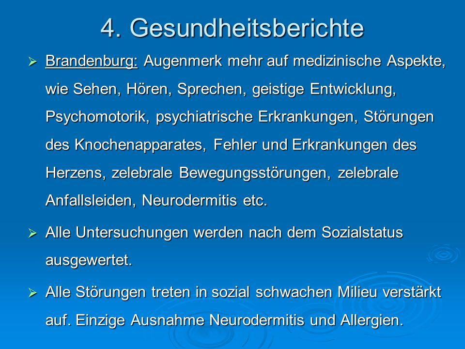 4. Gesundheitsberichte