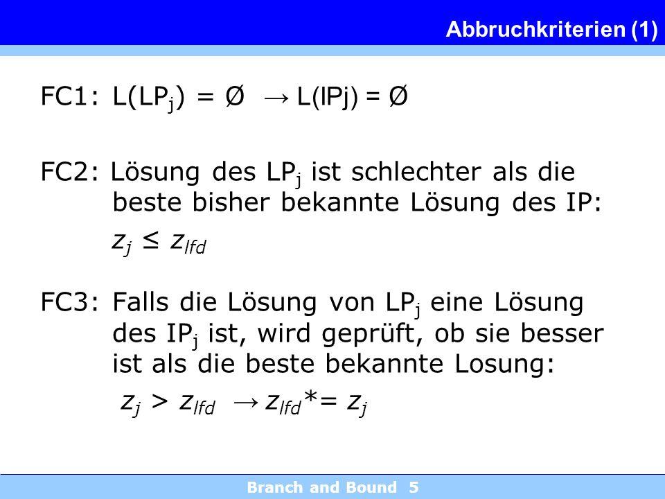FC1: L(LPj) = Ø → L(IPj) = Ø