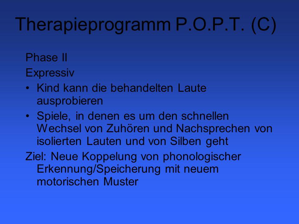 Therapieprogramm P.O.P.T. (C)