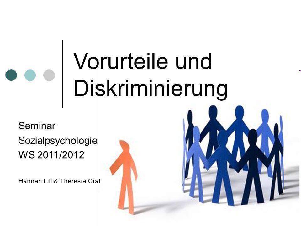 Vorurteile und Diskriminierung