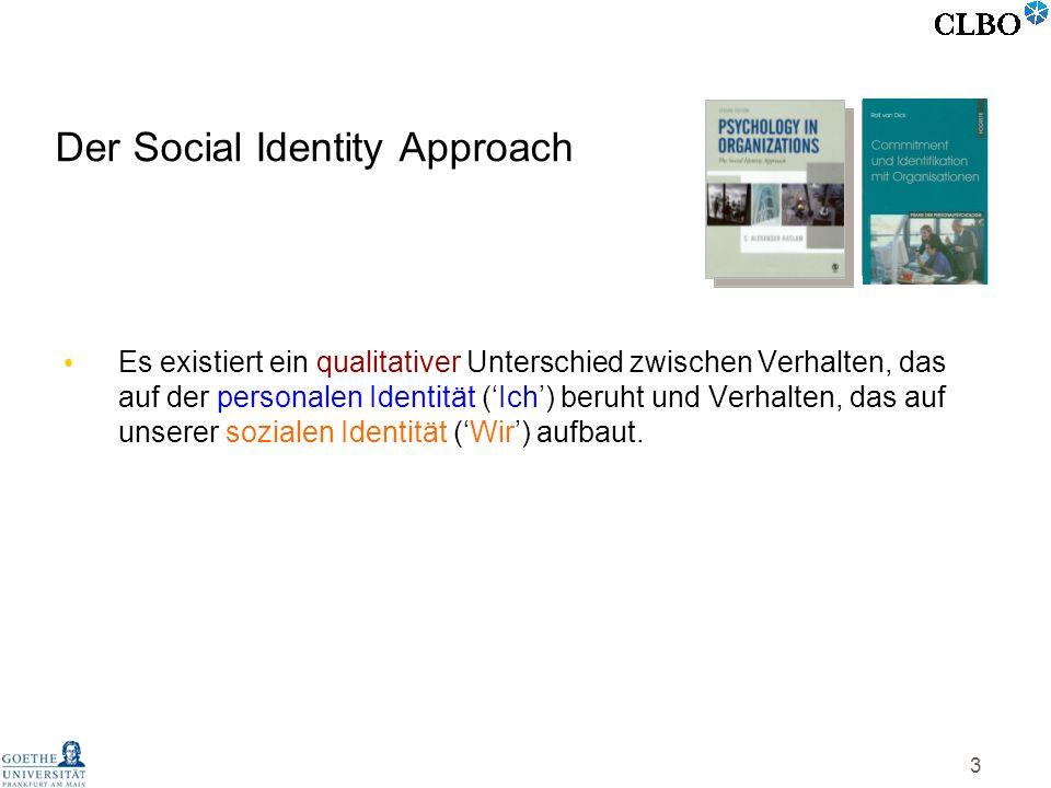 Der Social Identity Approach
