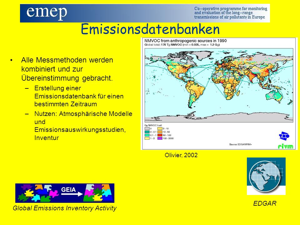 Emissionsdatenbanken