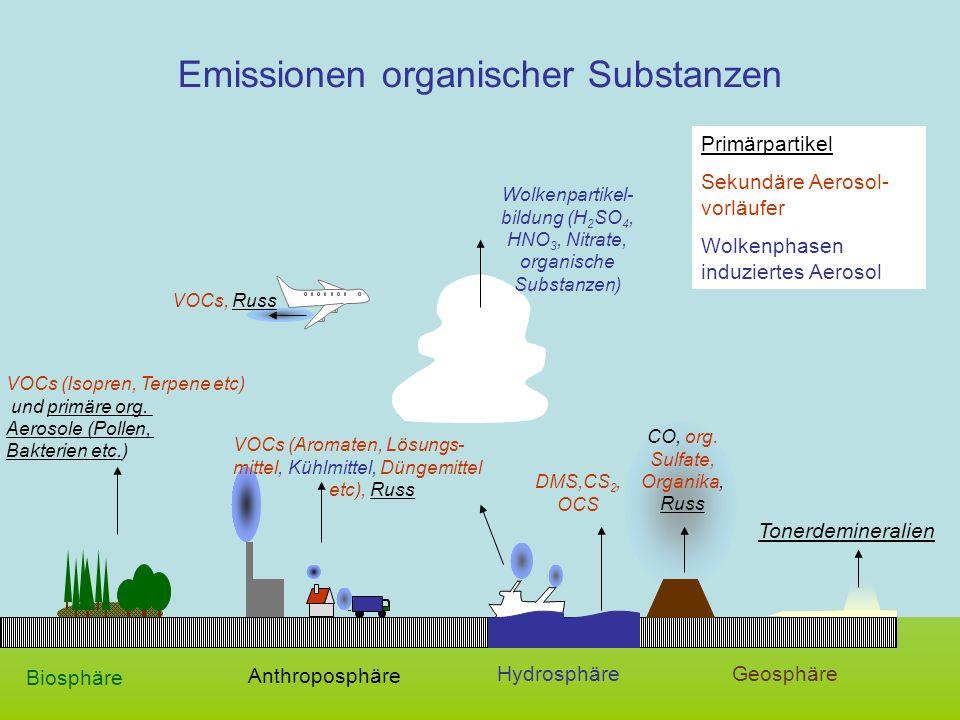 Emissionen organischer Substanzen