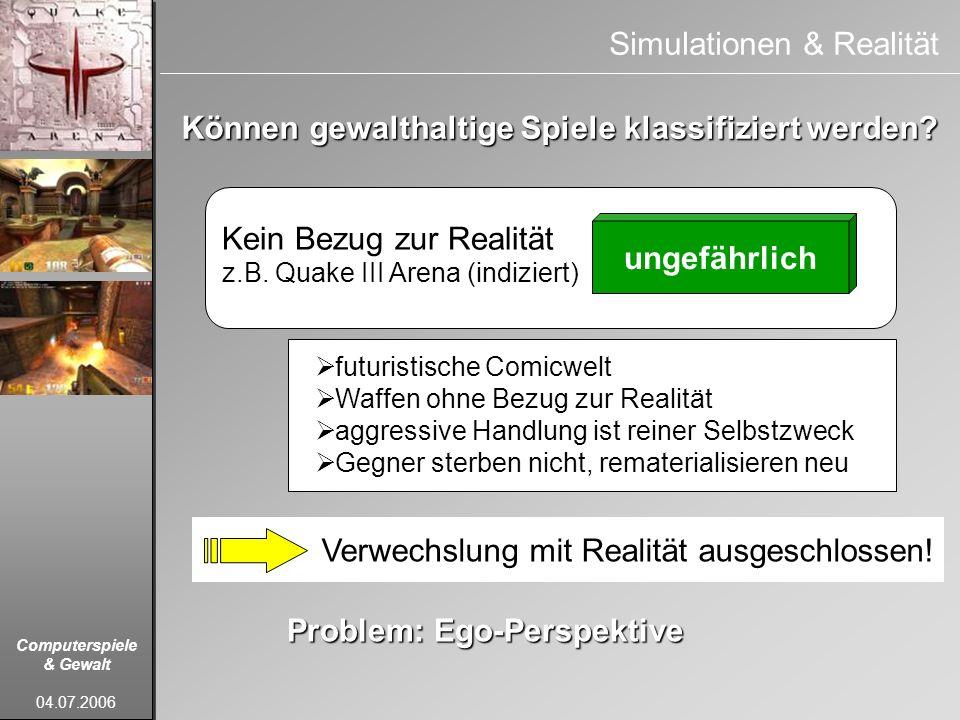 Simulationen & Realität