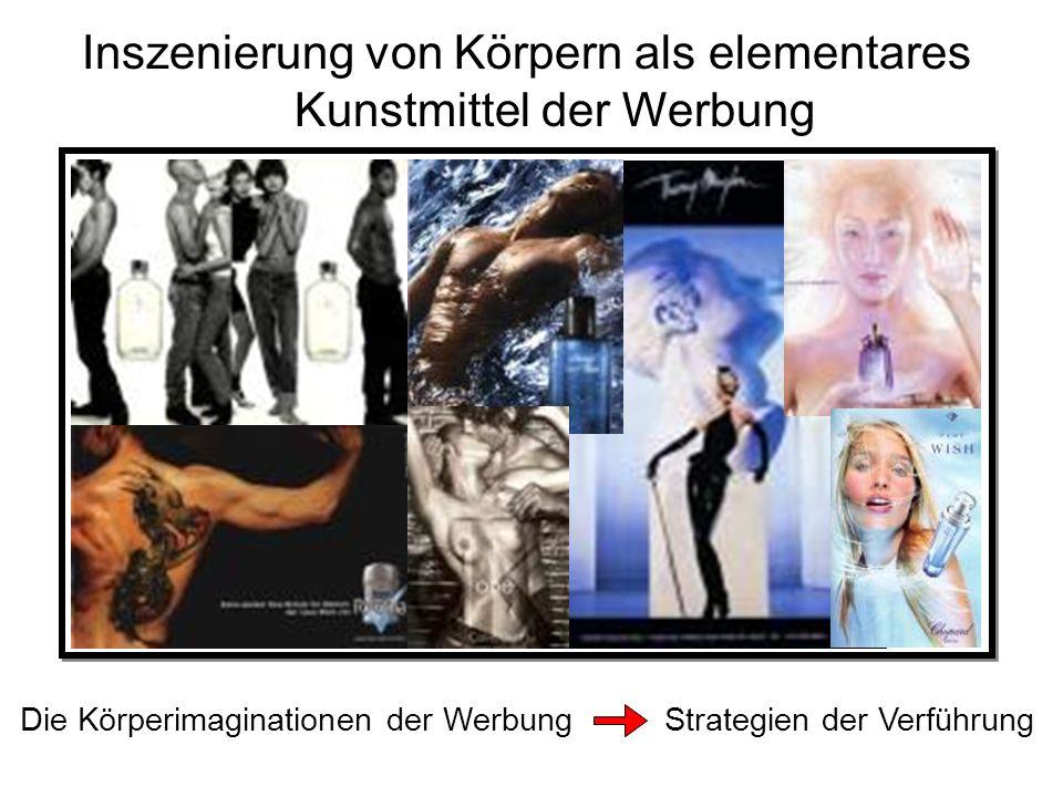 Inszenierung von Körpern als elementares Kunstmittel der Werbung