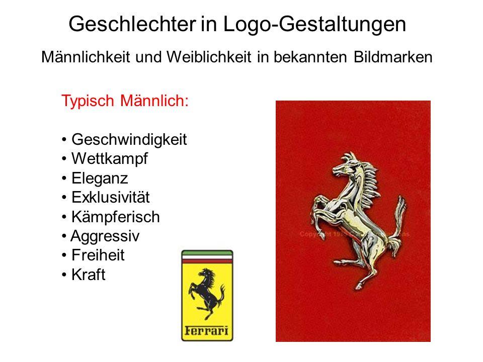 Geschlechter in Logo-Gestaltungen
