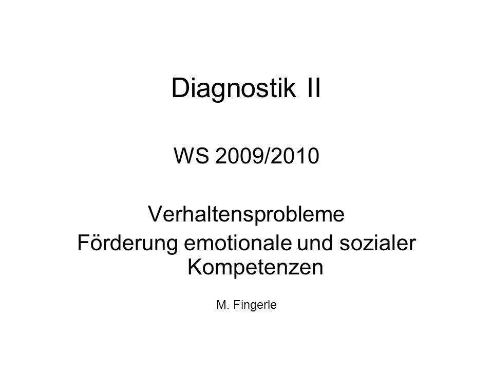 Förderung emotionale und sozialer Kompetenzen
