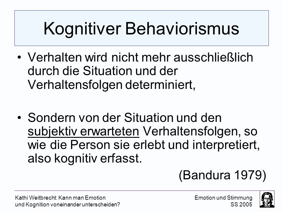 Kognitiver Behaviorismus