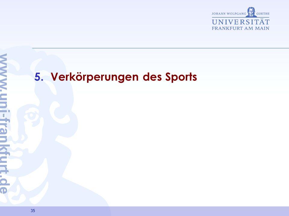 Verkörperungen des Sports