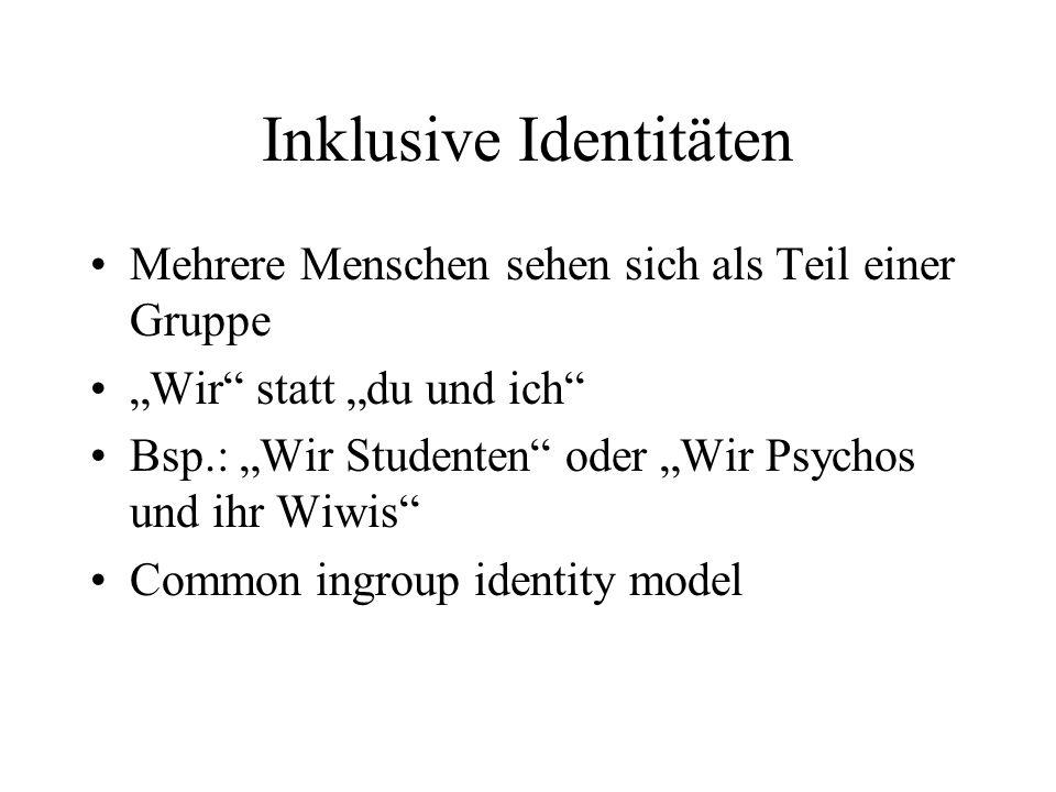 Inklusive Identitäten