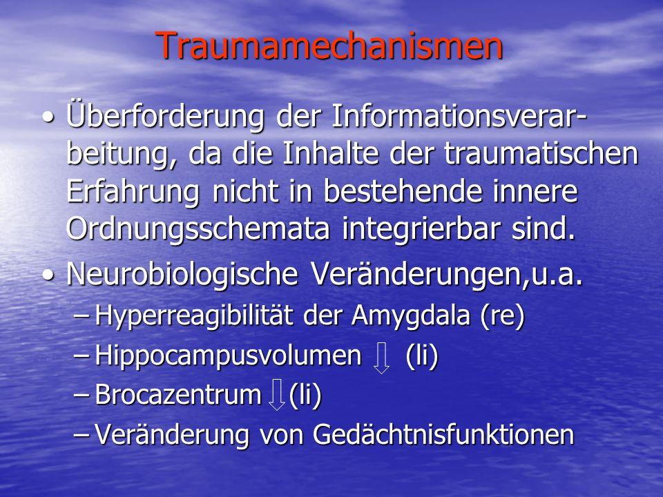 Traumamechanismen