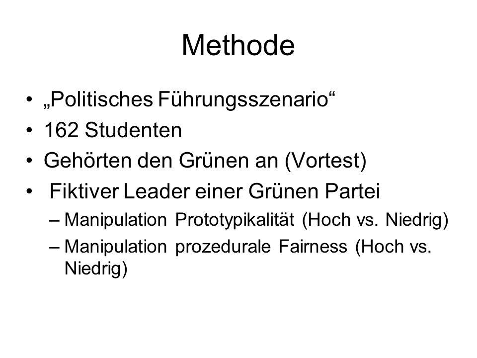 """Methode """"Politisches Führungsszenario 162 Studenten"""