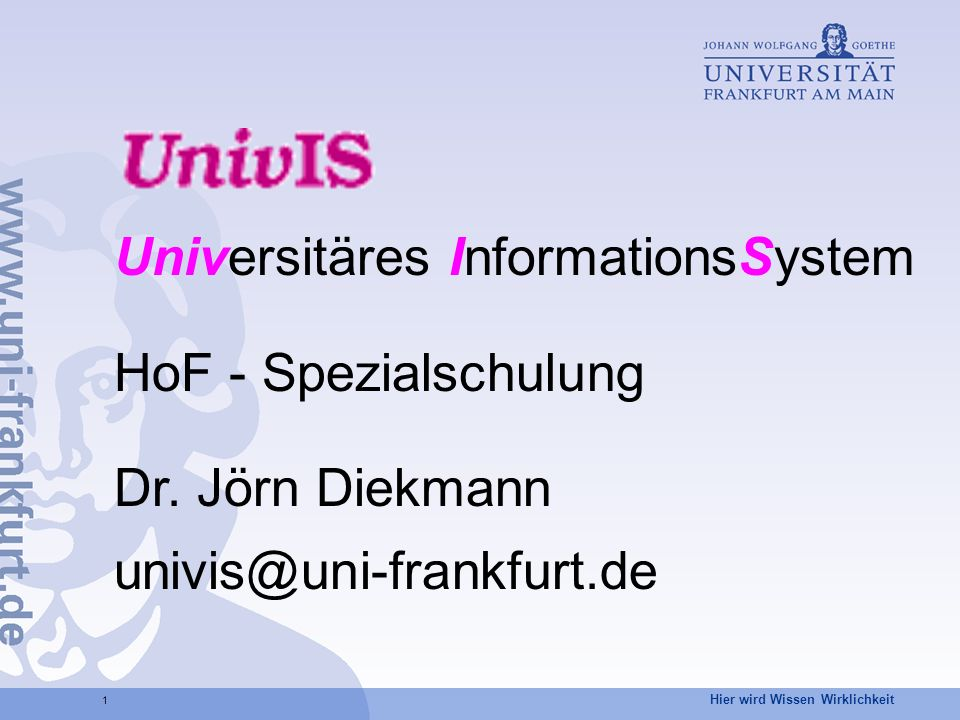 Universitäres InformationsSystem