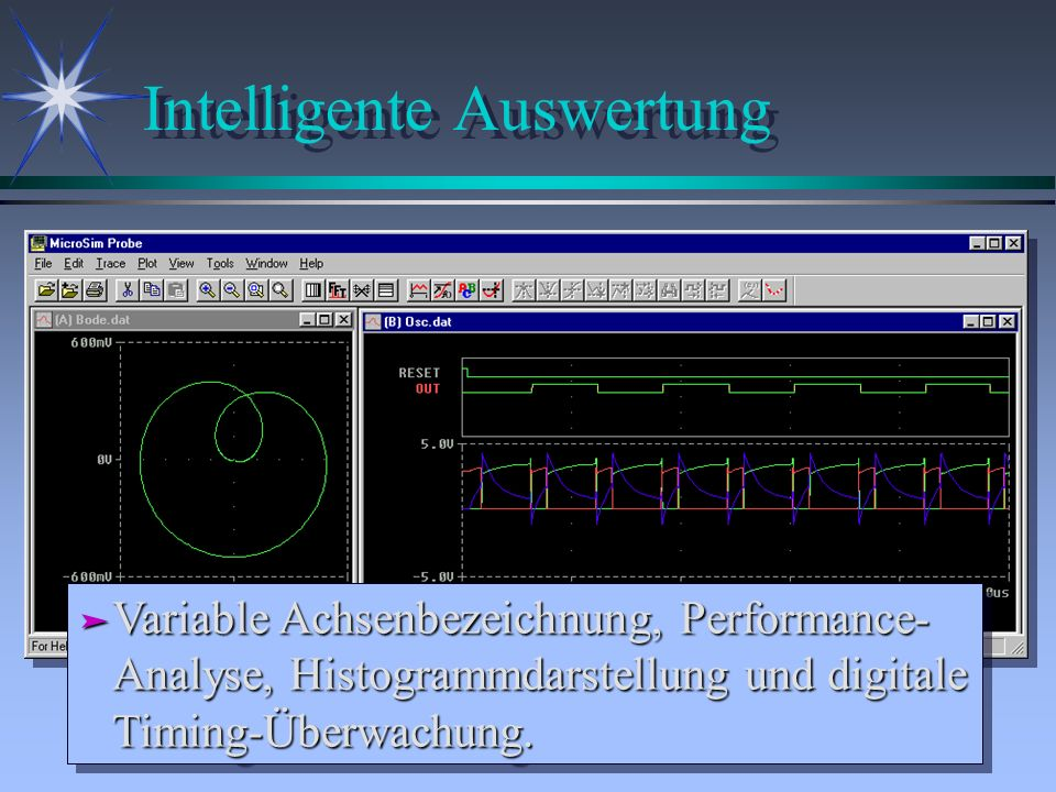 Intelligente Auswertung