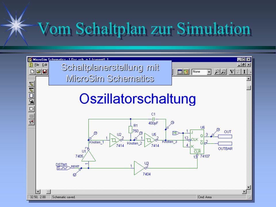Vom Schaltplan zur Simulation