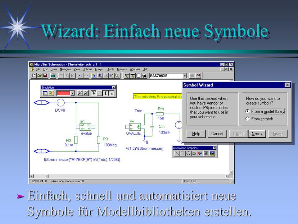 Wizard: Einfach neue Symbole