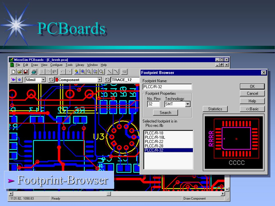 PCBoards Footprint-Browser