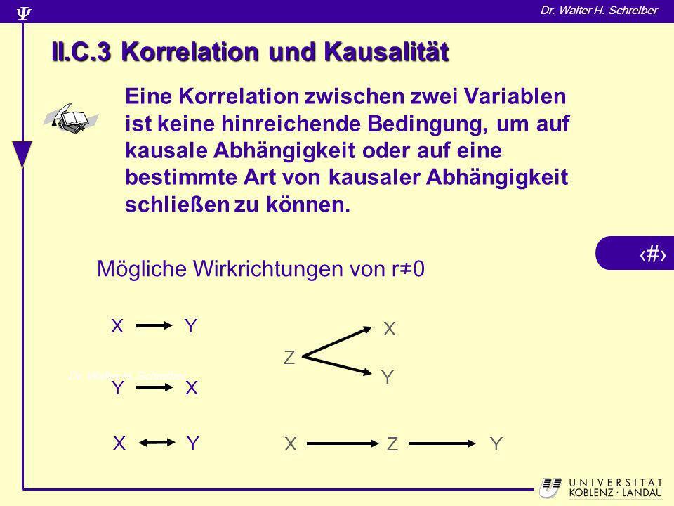 II.C.3 Korrelation und Kausalität