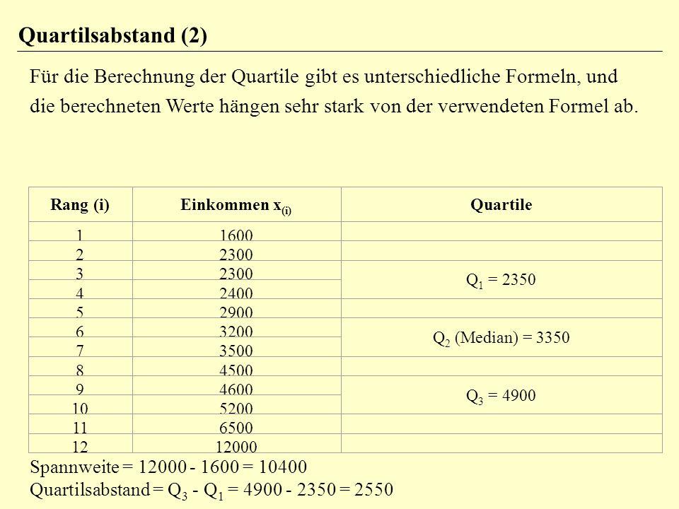 Quartilsabstand (2)