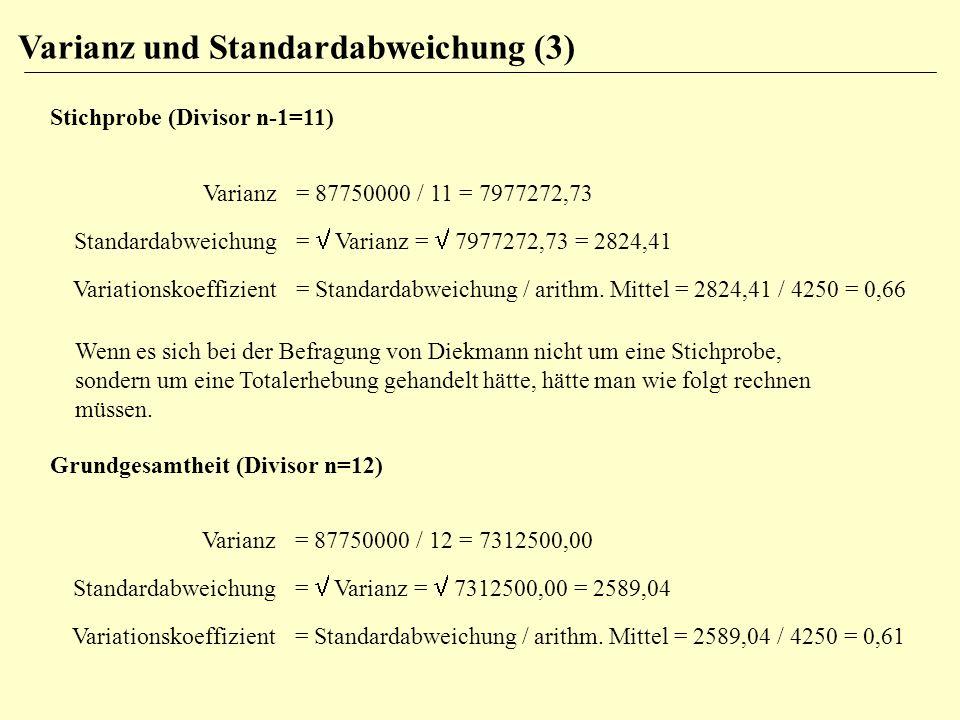 Varianz und Standardabweichung (3)