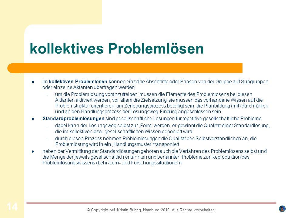 kollektives Problemlösen