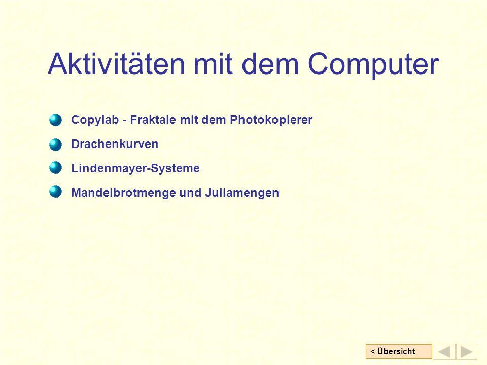 Aktivitäten mit dem Computer