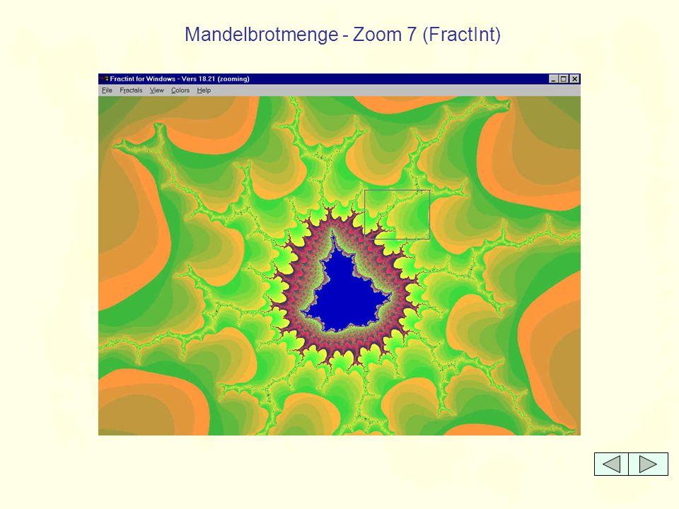 Mandelbrotmenge - Zoom 7 (FractInt)