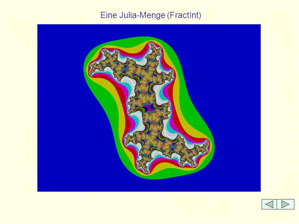 Eine Julia-Menge (FractInt)