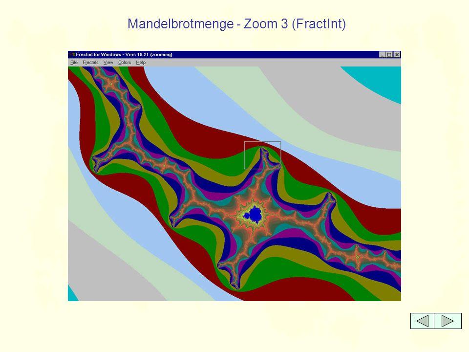 Mandelbrotmenge - Zoom 3 (FractInt)