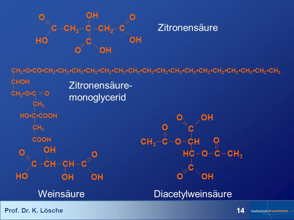 Zitronensäure-monoglycerid