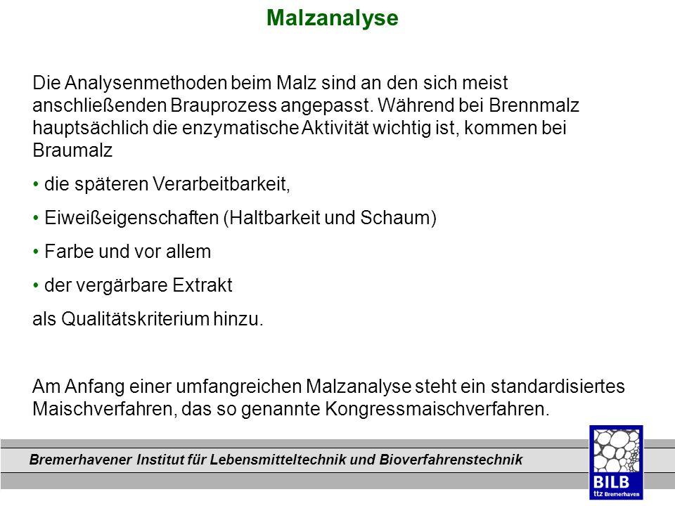 Malzanalyse