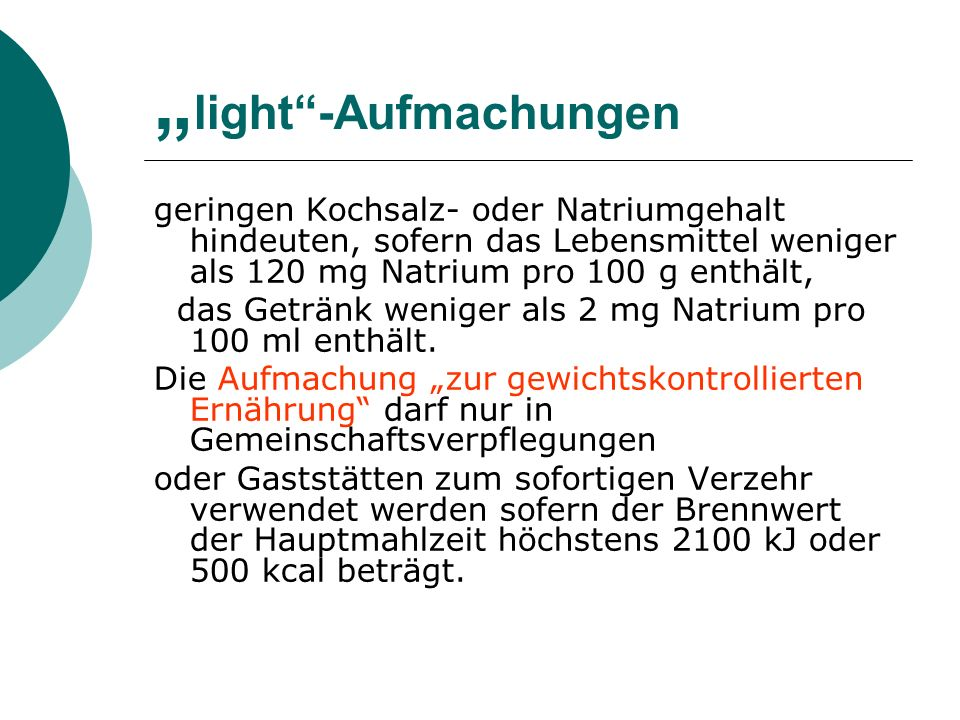 """light -Aufmachungen"