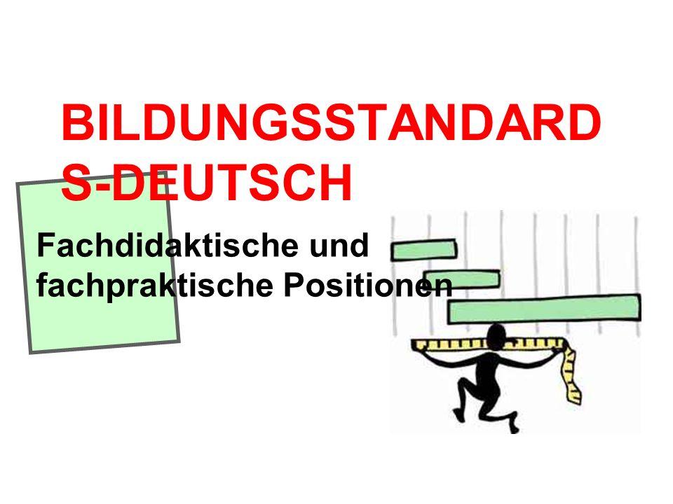 BILDUNGSSTANDARDS-DEUTSCH