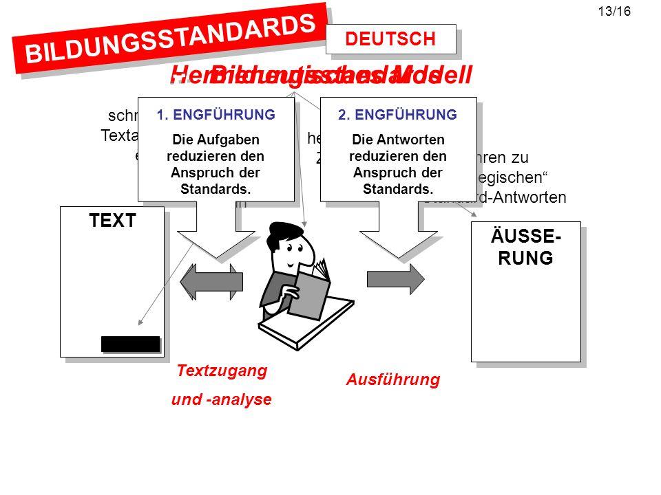 Hermeneutisches Modell Bildungsstandards