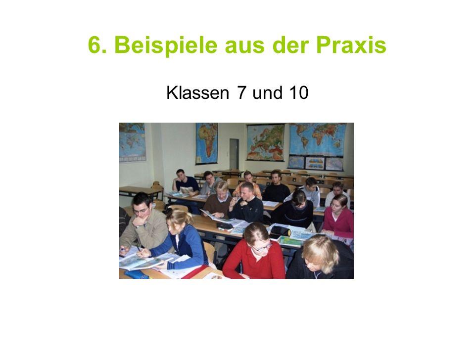 6. Beispiele aus der Praxis