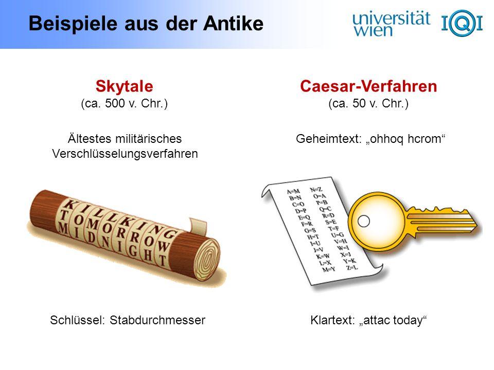 Beispiele aus der Antike
