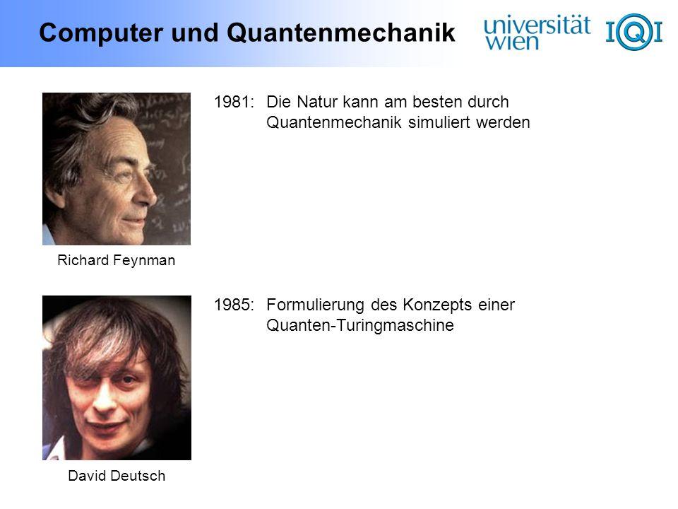 Computer und Quantenmechanik