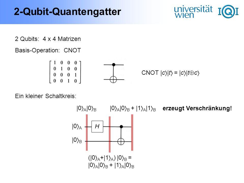 2-Qubit-Quantengatter