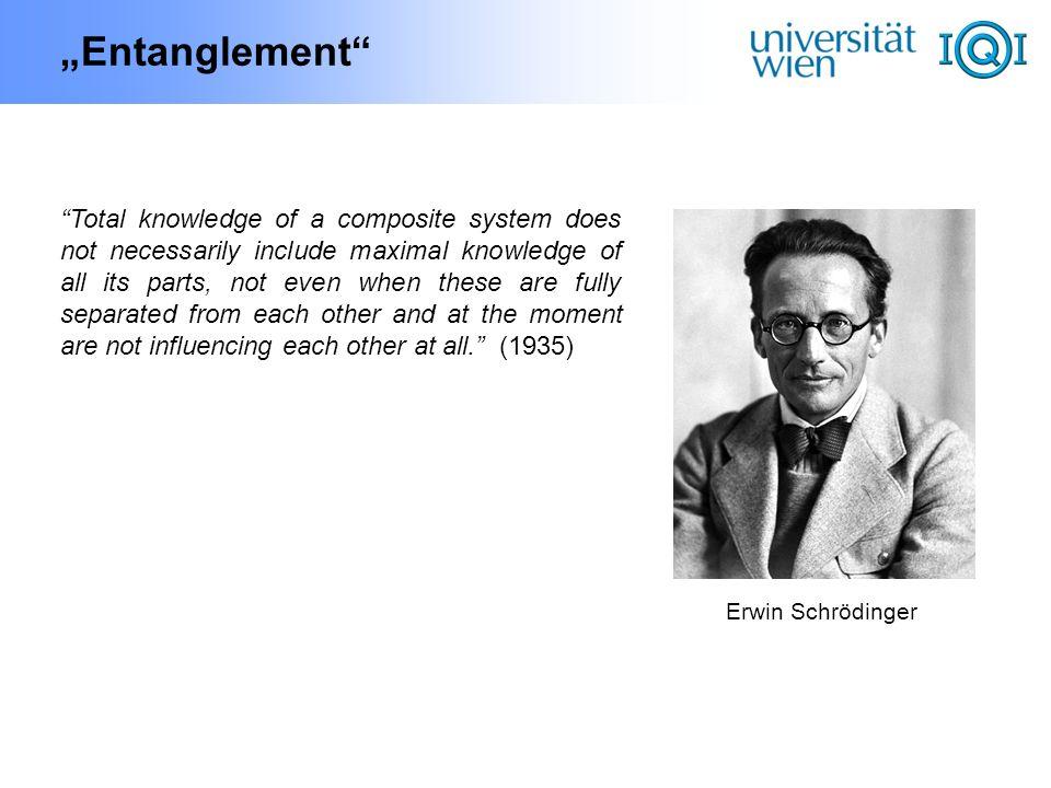 """Entanglement"
