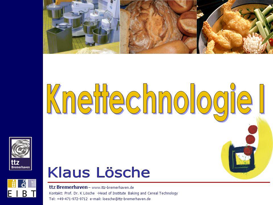 Knettechnologie I Klaus Lösche
