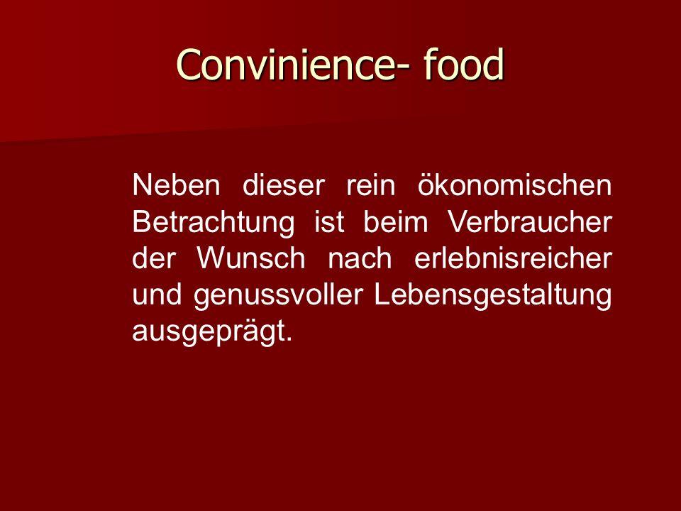 Convinience- food